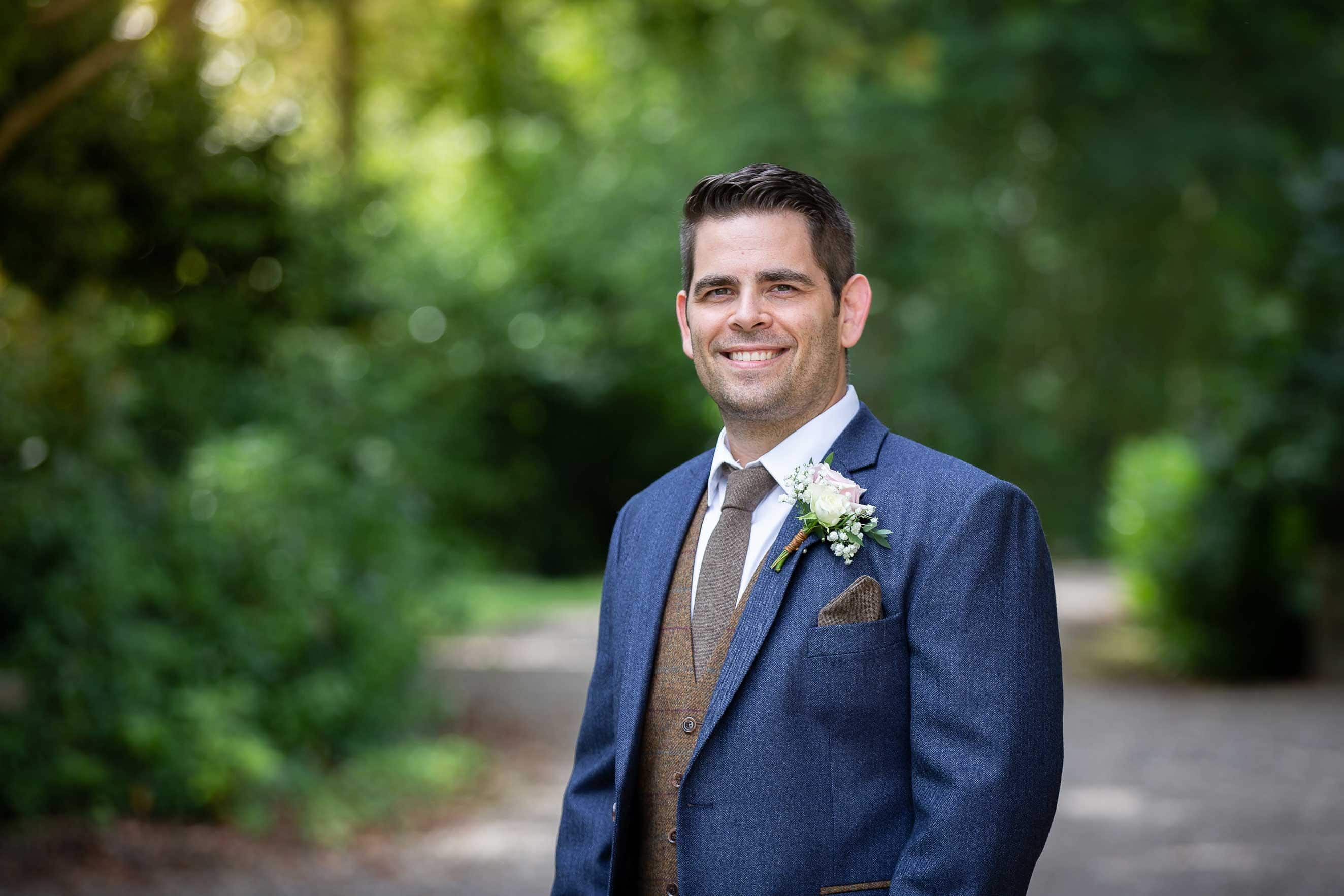 Groom at Ellingham hall
