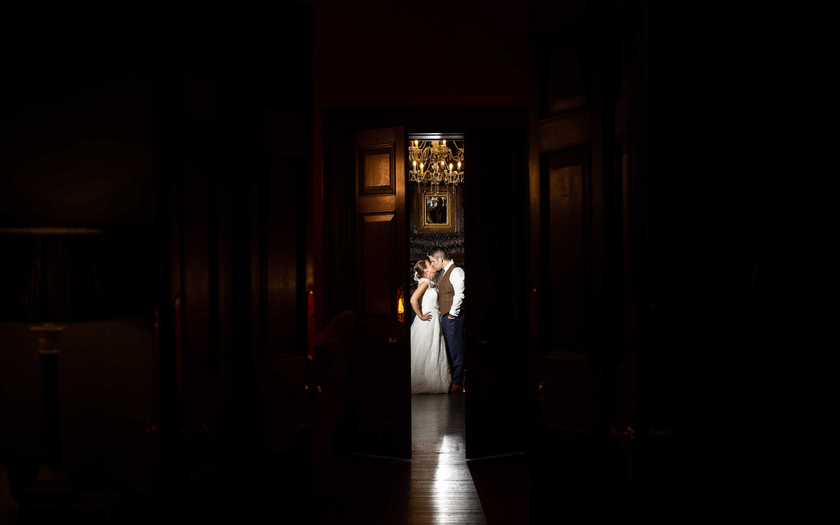 wedding photo of the bride and groom