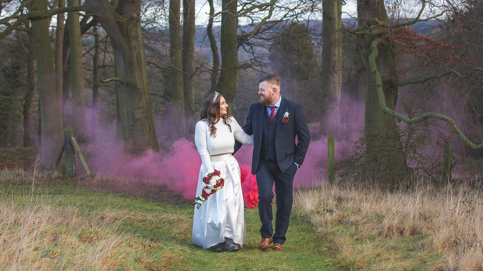 Creative wedding photography at South Causey Inn