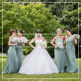 All the girls - Durham wedding photography