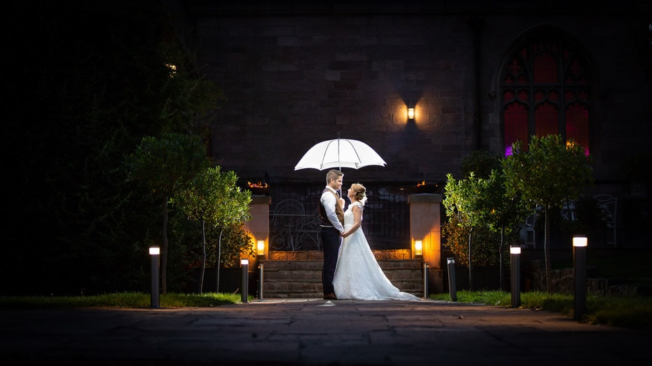 Stunning image of Bride and Groom