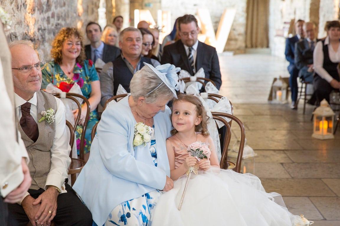 Healey Barn wedding ceremony