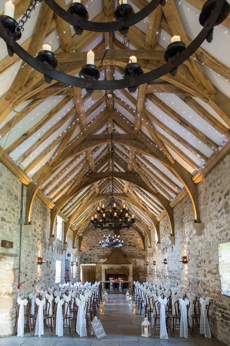 Healey Barn ceremony room