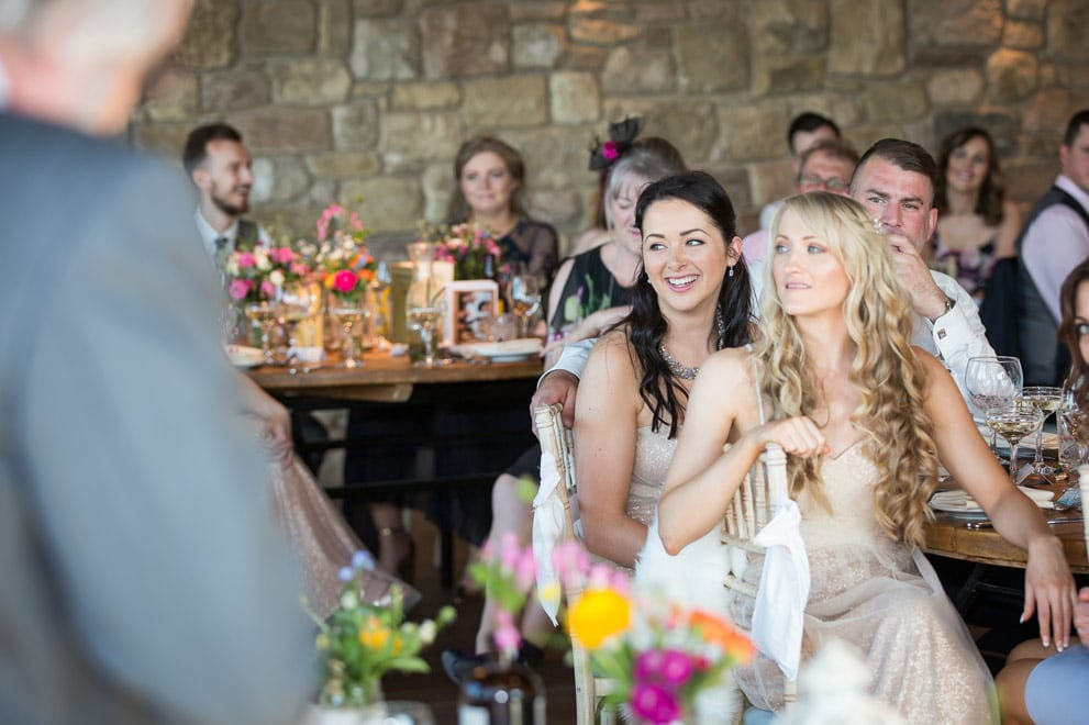 Photo of Bridesmaid laughing