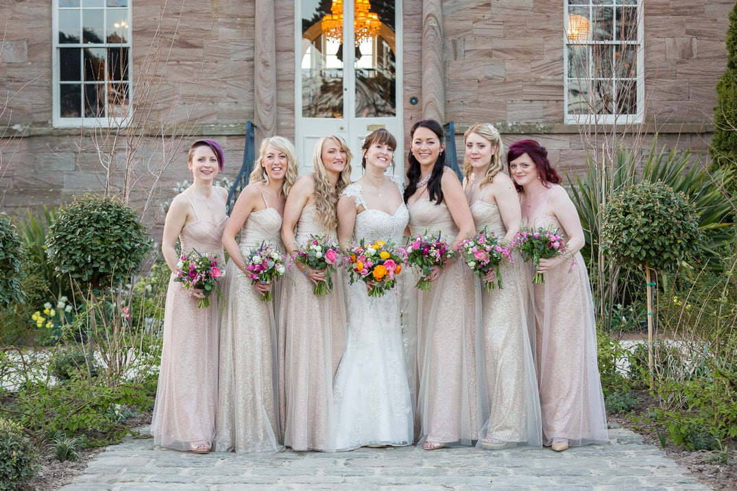 Photos of the bridal Party
