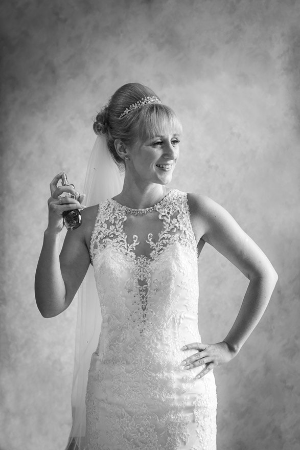 Brides Photo at Rushpool Hall