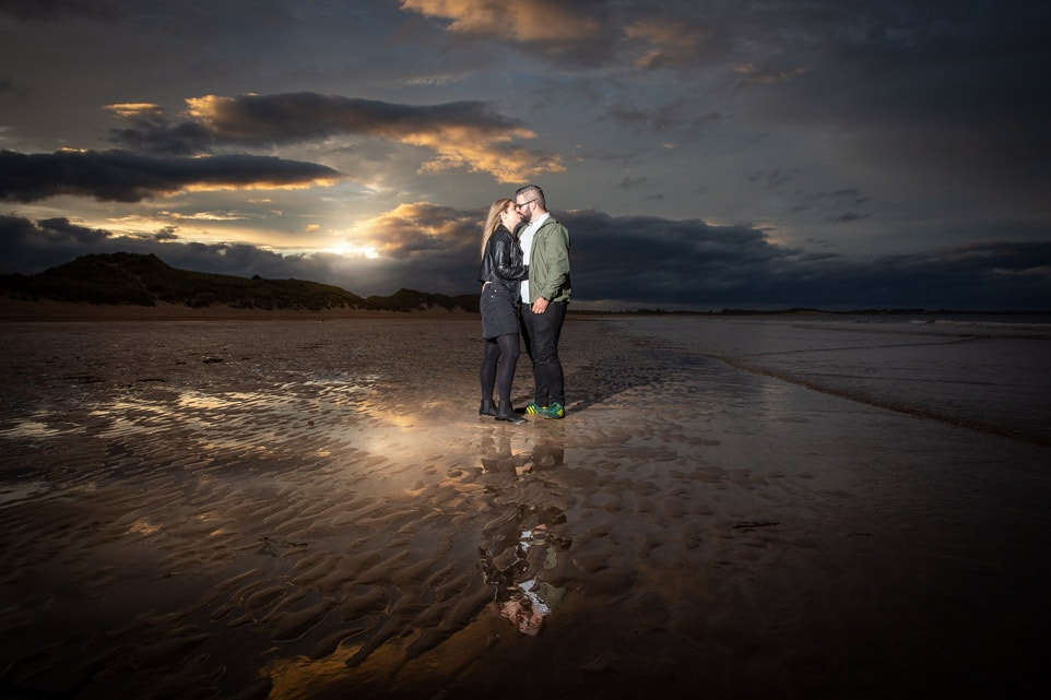 Couples pre Wedding photos in Northumberland