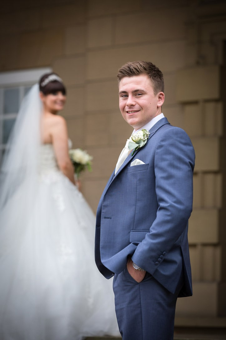 Photo of the groom