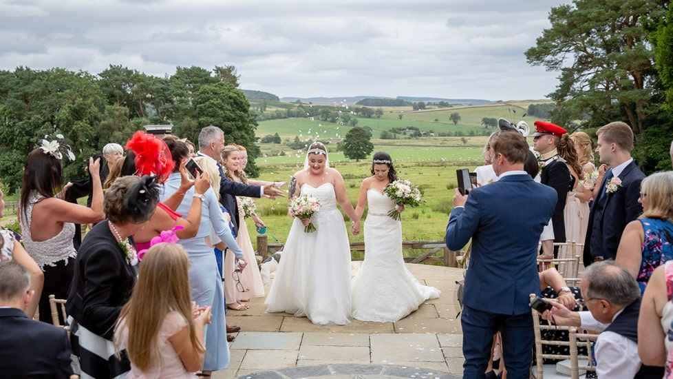 Couple at Woodhill hall