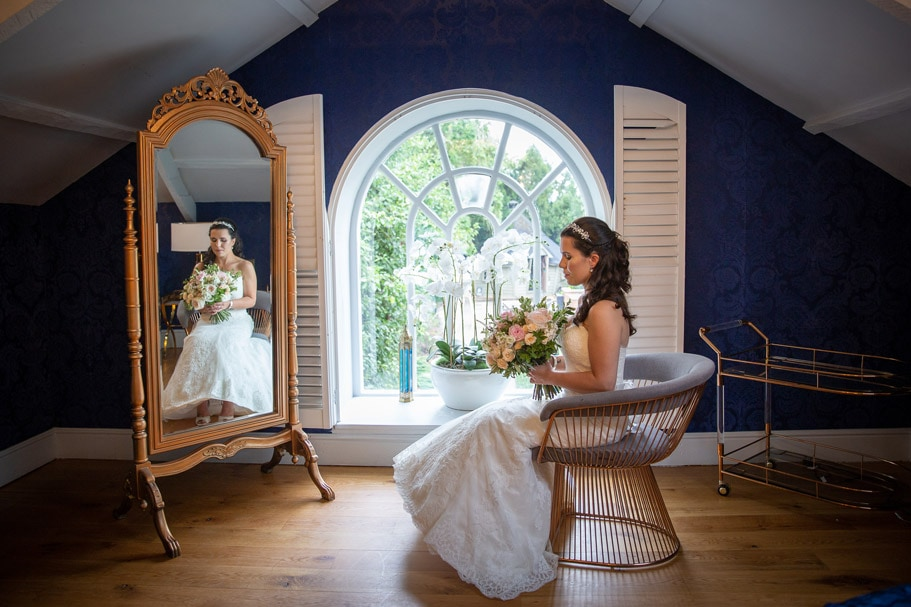Photo of Bride at Woodhill Hall