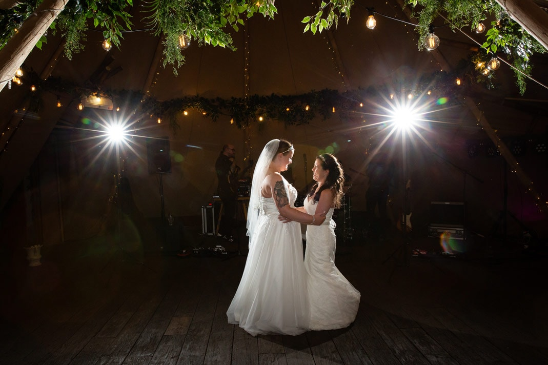 photo of first Dance at Woodhill Hall