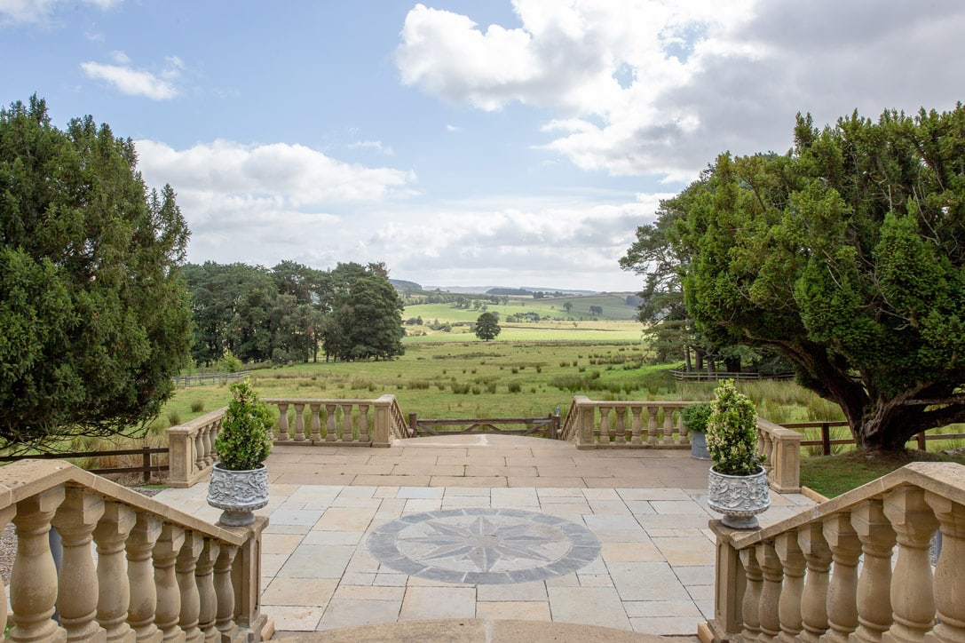 The view at Woodhill Hall