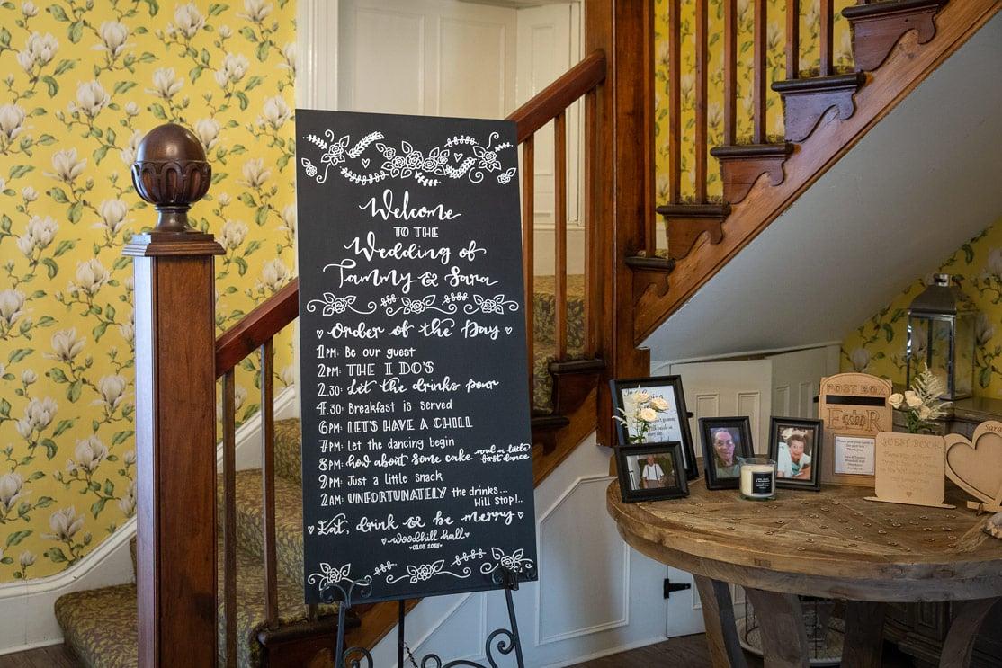 Wedding photos at Woodhill Hall Northumberland