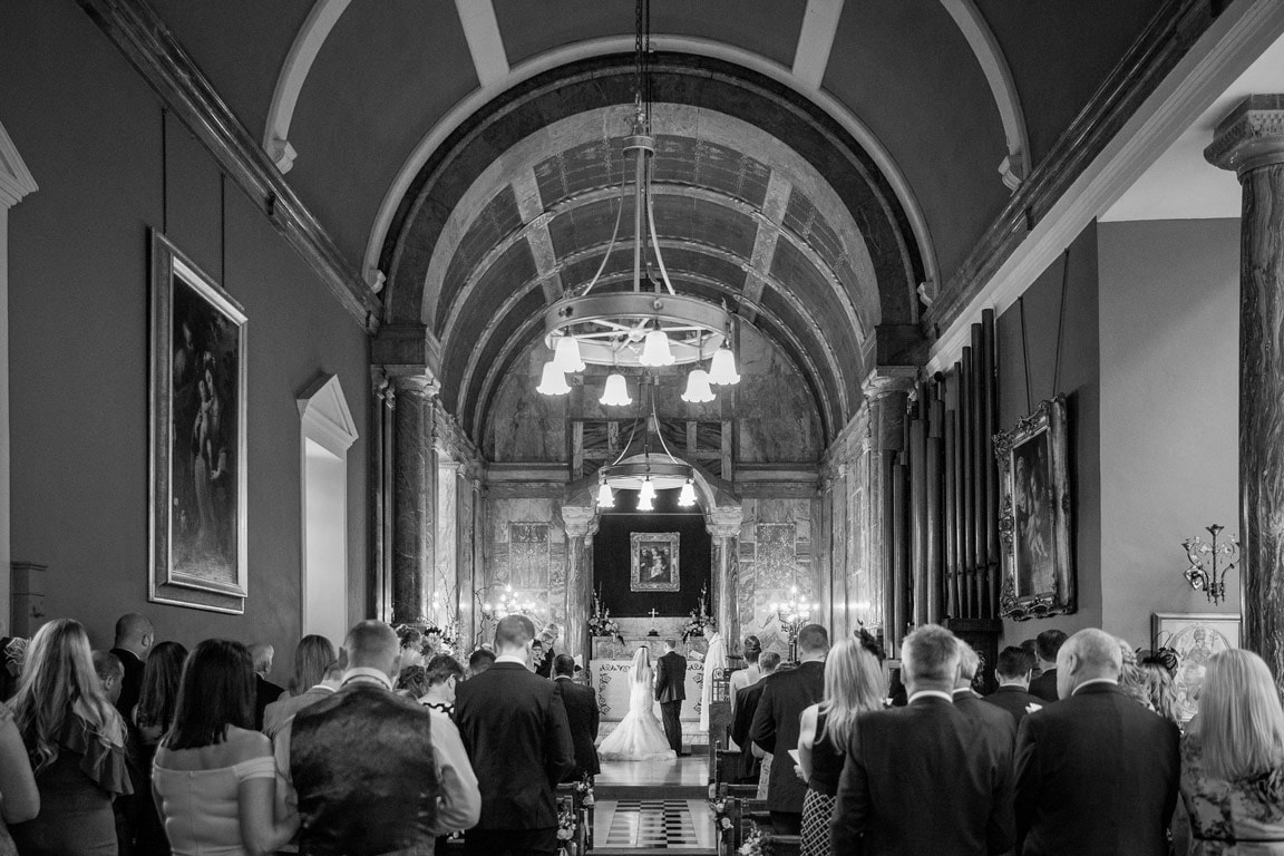 Photo of Wynyard Hall wedding