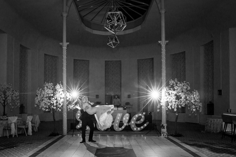 Photo of the first Dance at Wynyard Hall