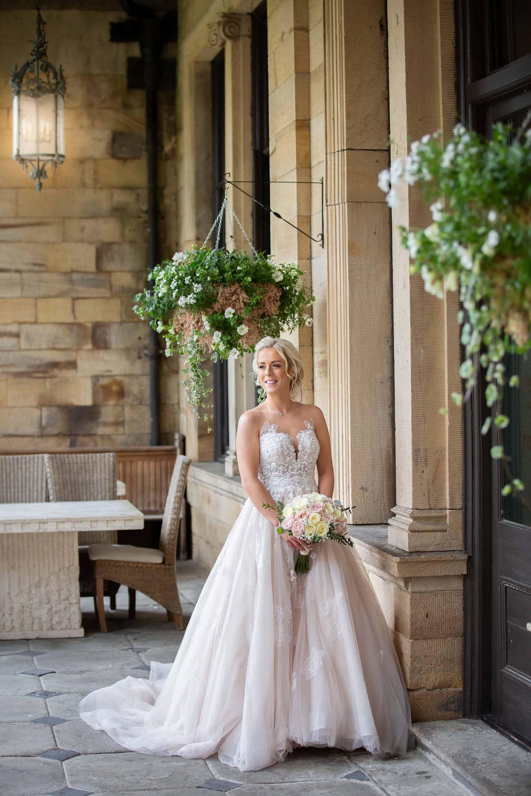 Beautiful Bride at Beamish Hall