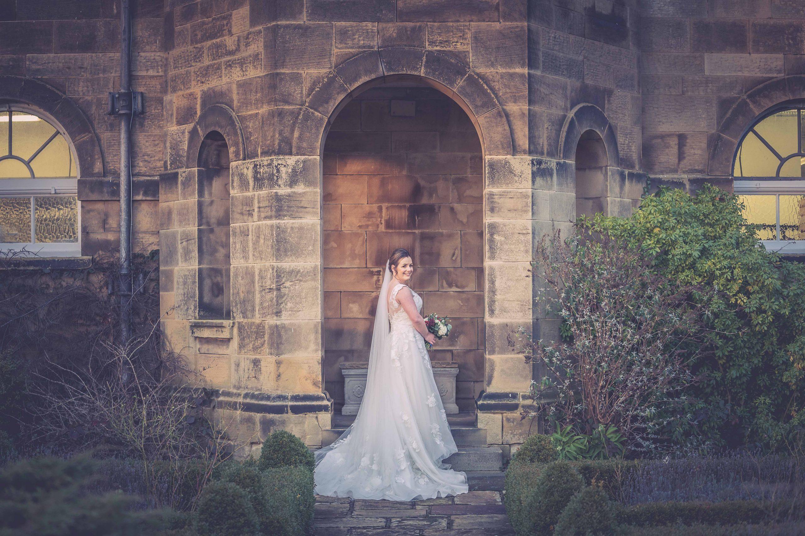 Bride at Crathorne Hall