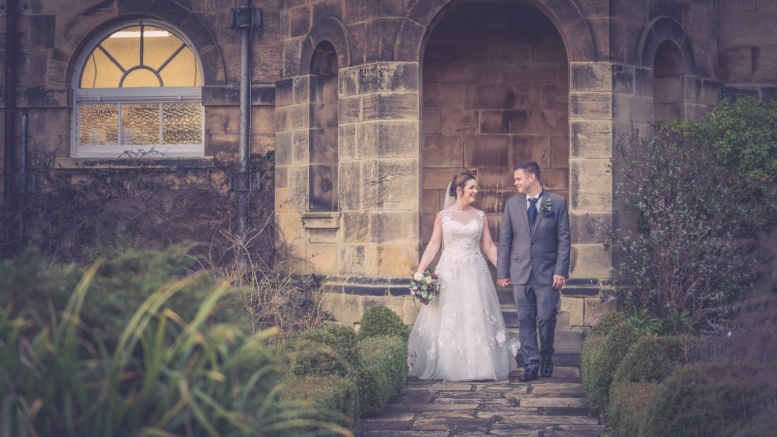 Award winning wedding photography at Crathorne Hall