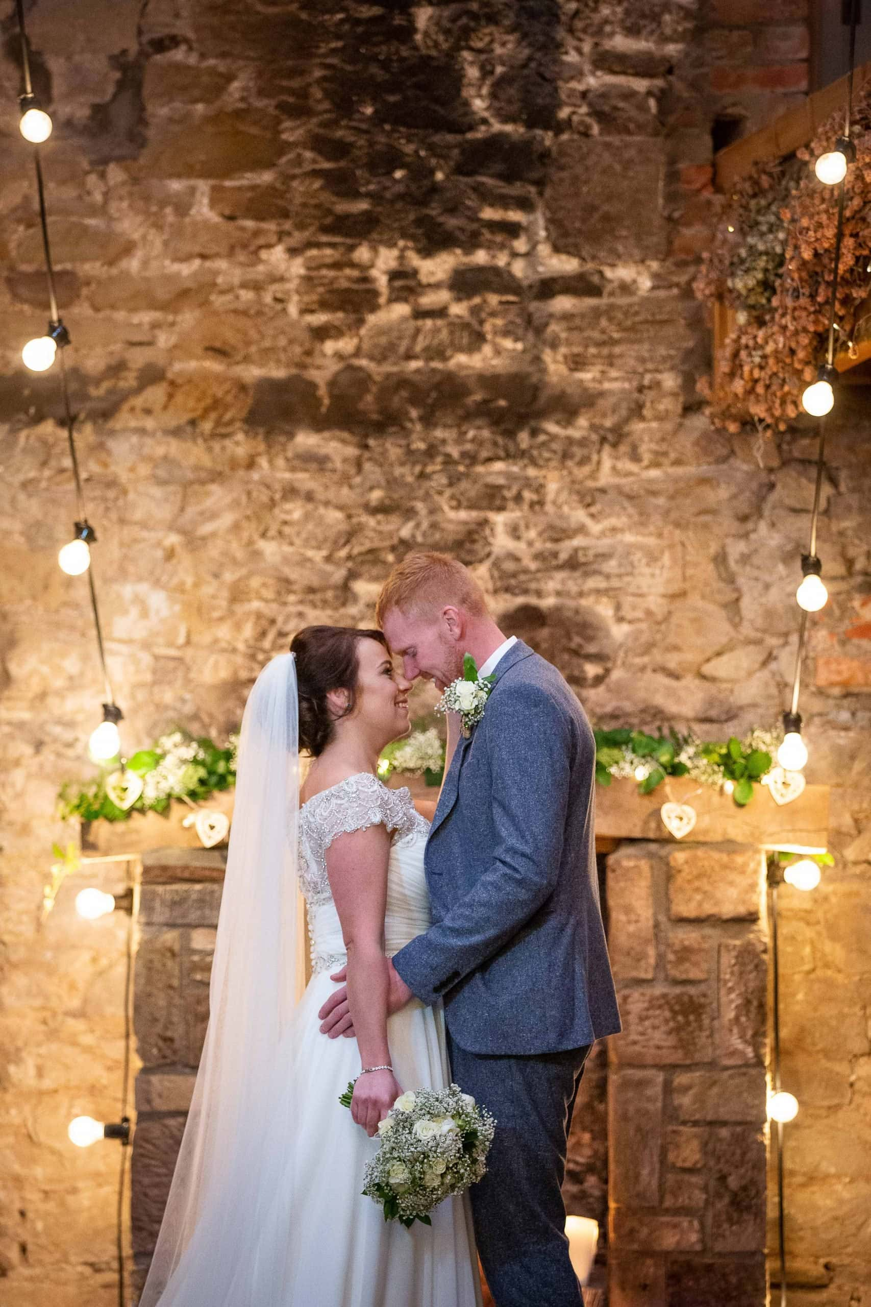 Couple portraits at Doxford Barns