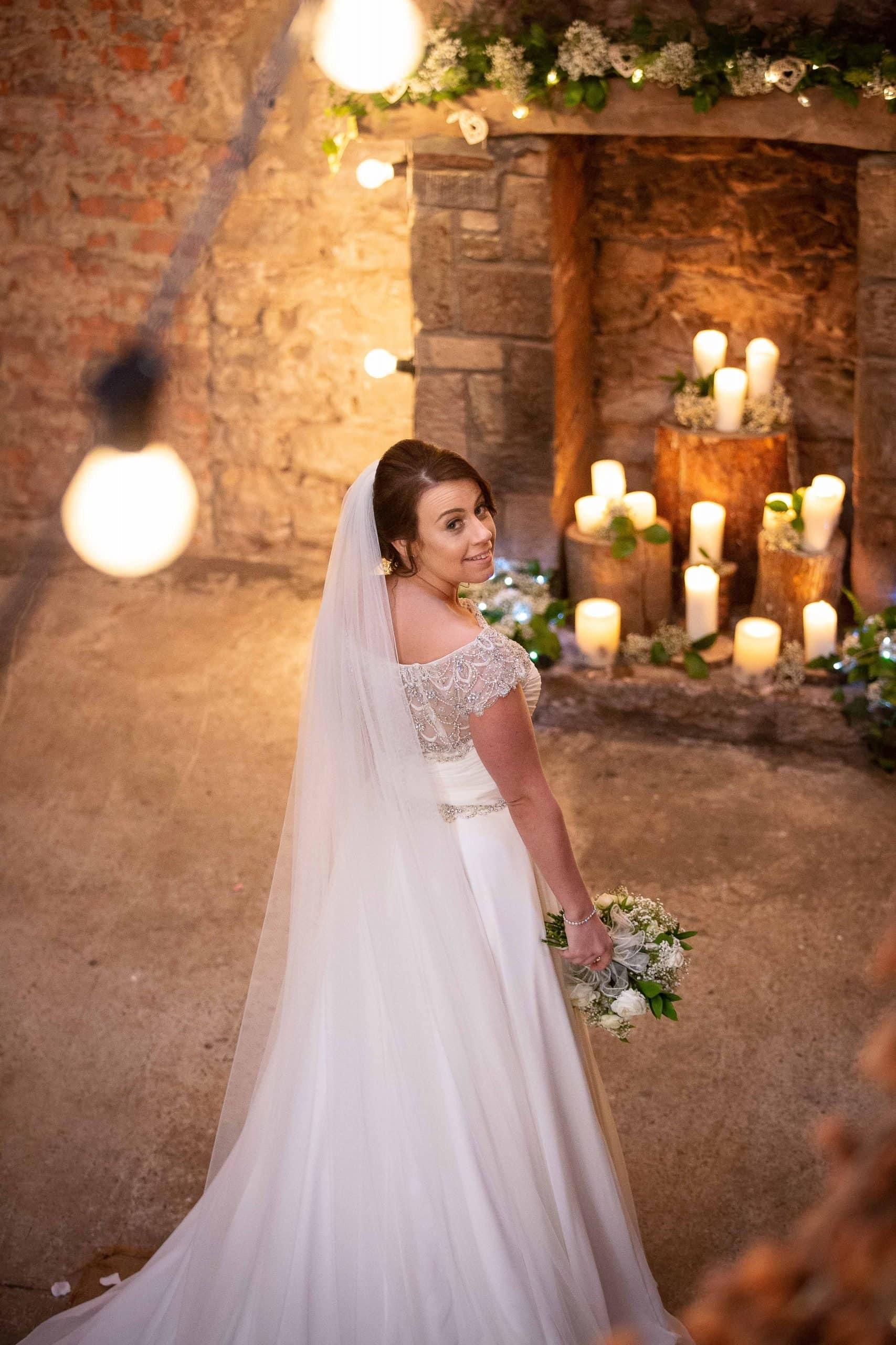 Bride at Doxford Barns
