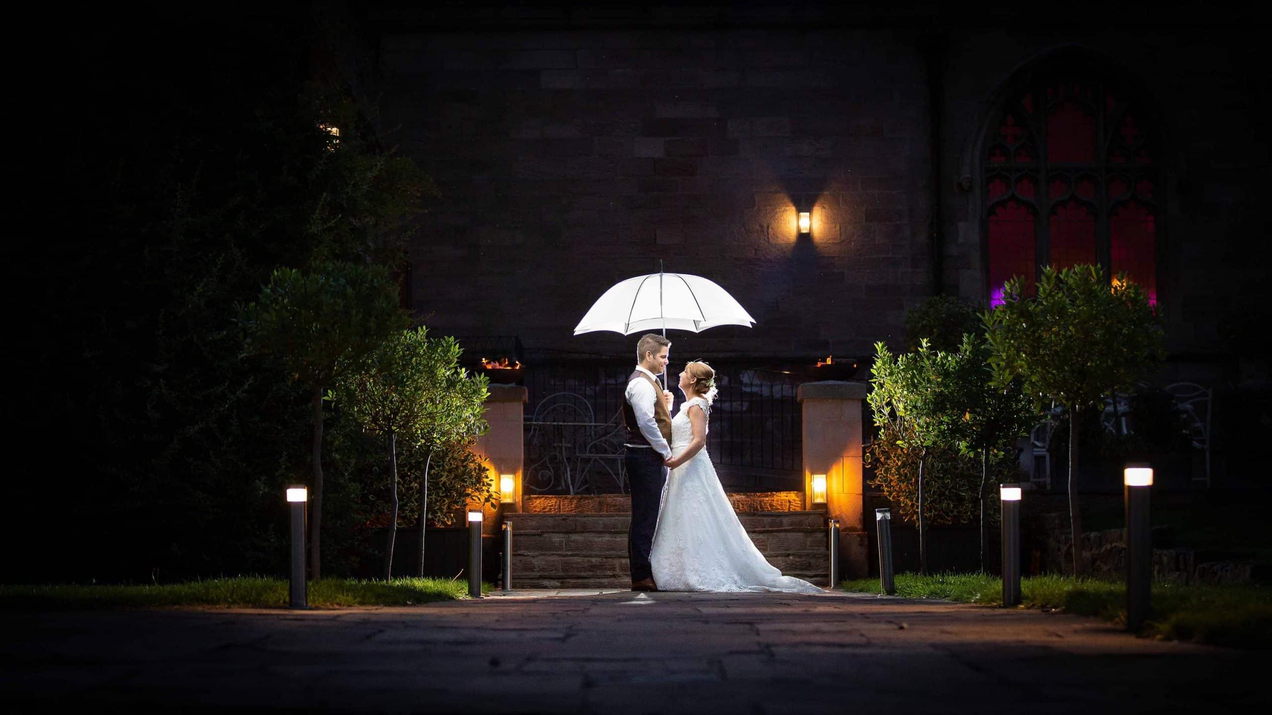 Award winning wedding images at Ellingham Hall