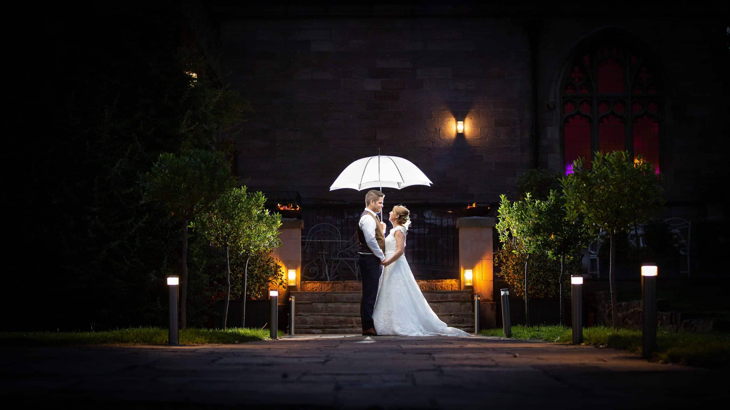 Award winning wedding images at Ellingham Hall