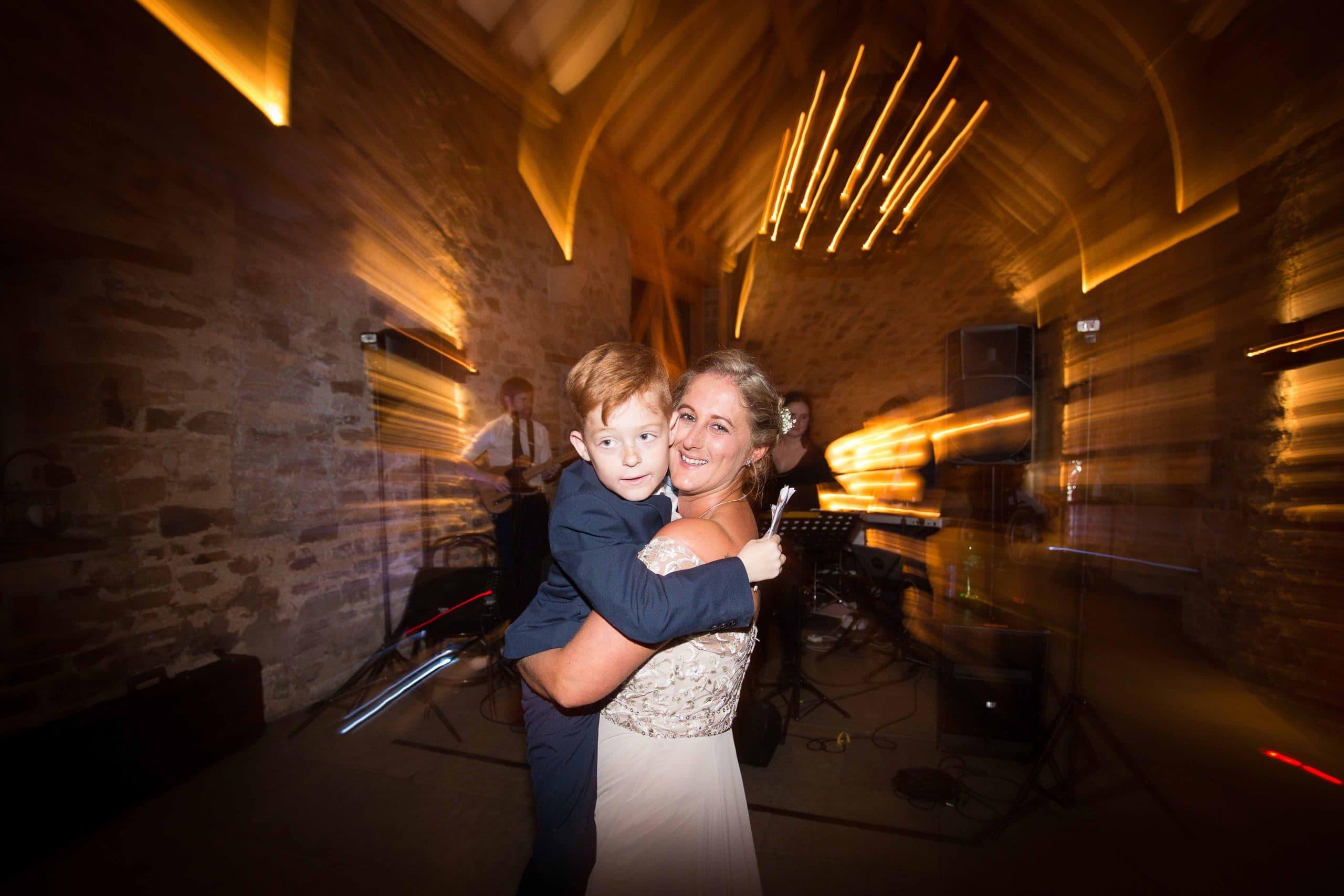 Dancing at Healey Barn wedding