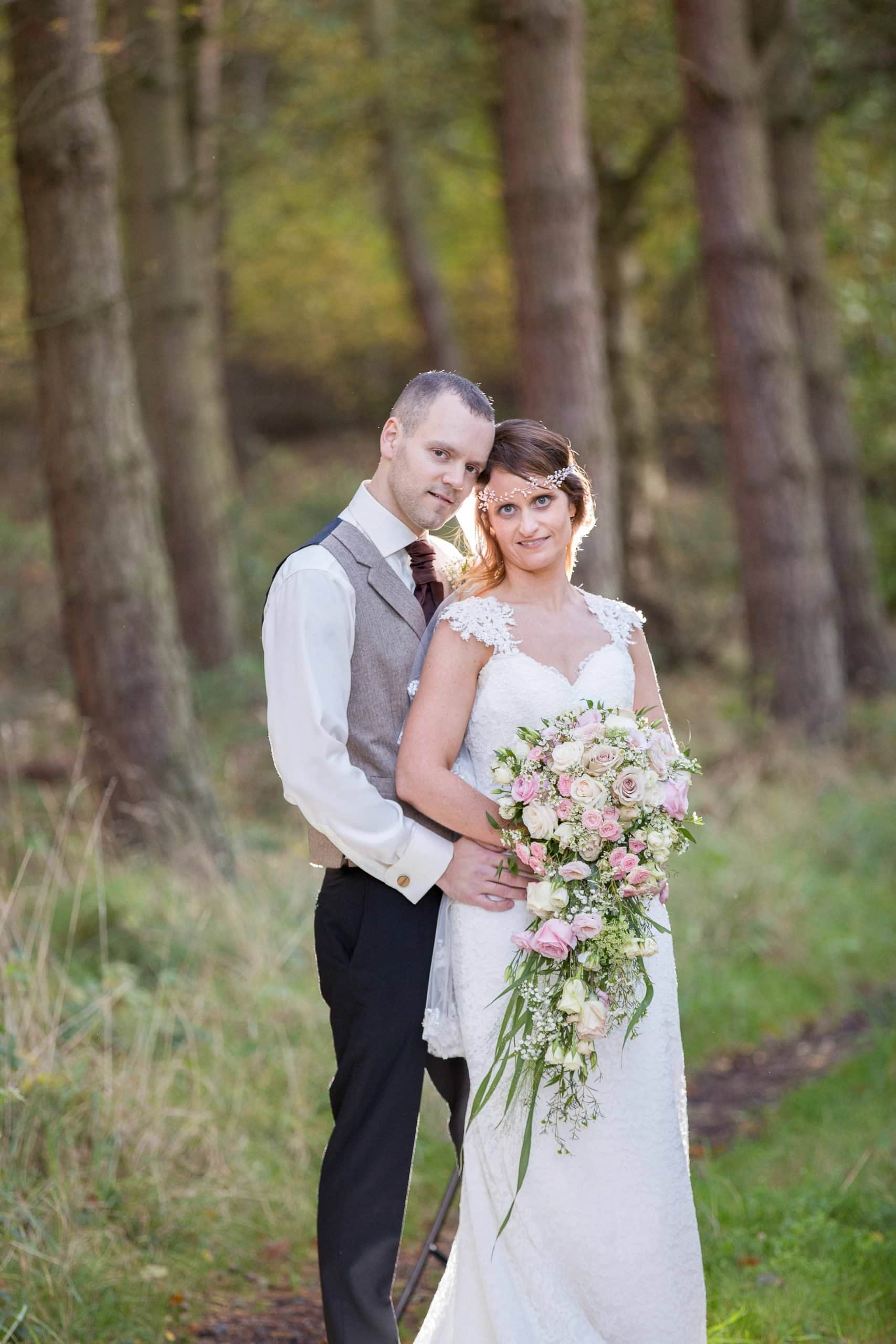 Stunning couple at Healey Barn