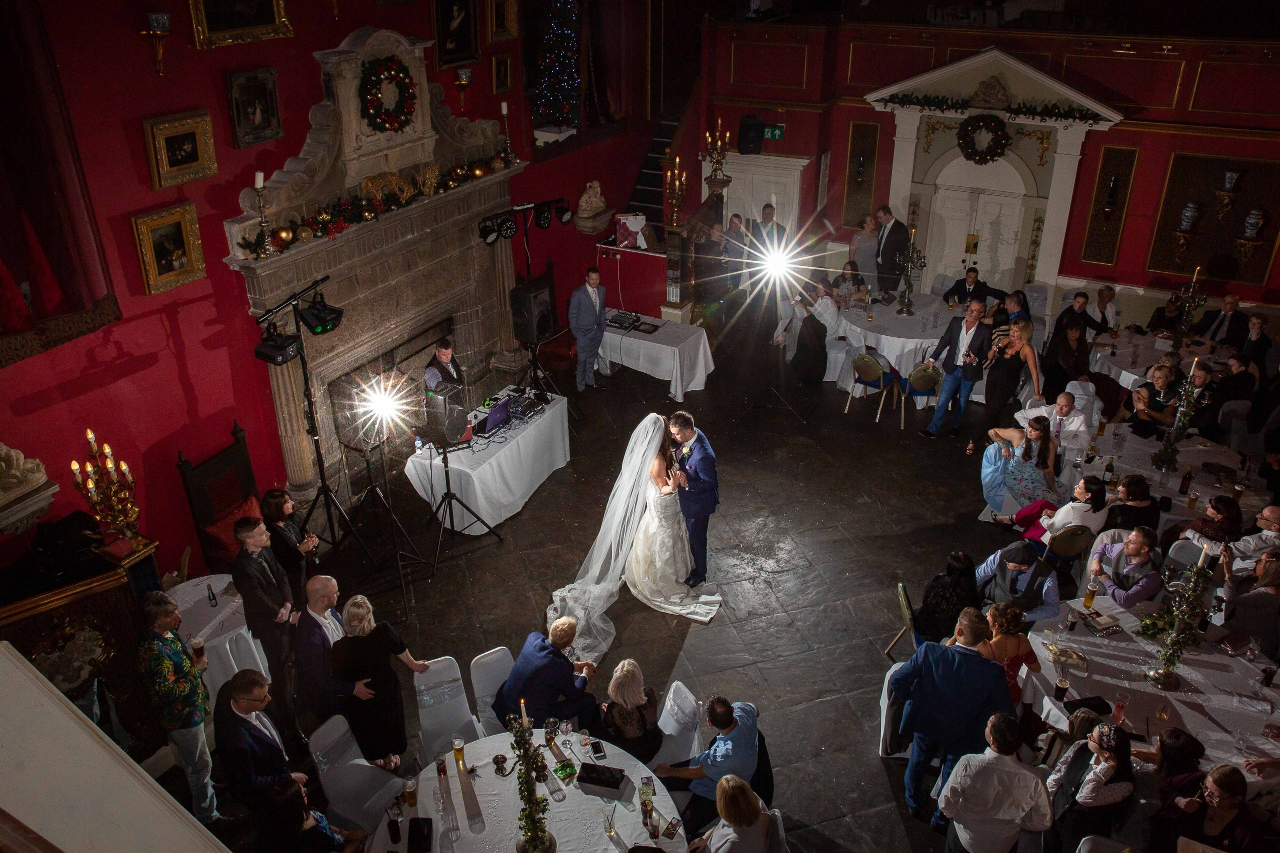 First dance at Lumley Castle