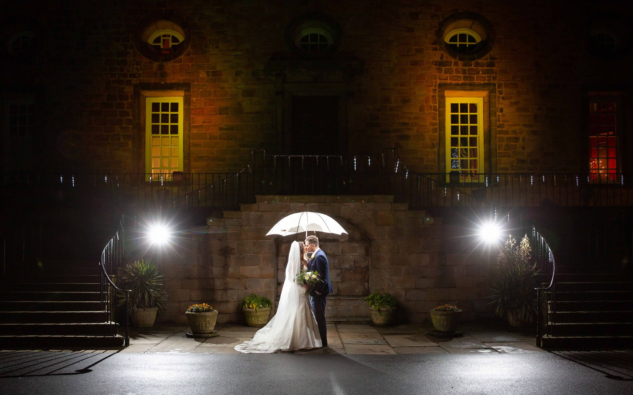 Lumley Castle wedding photographer
