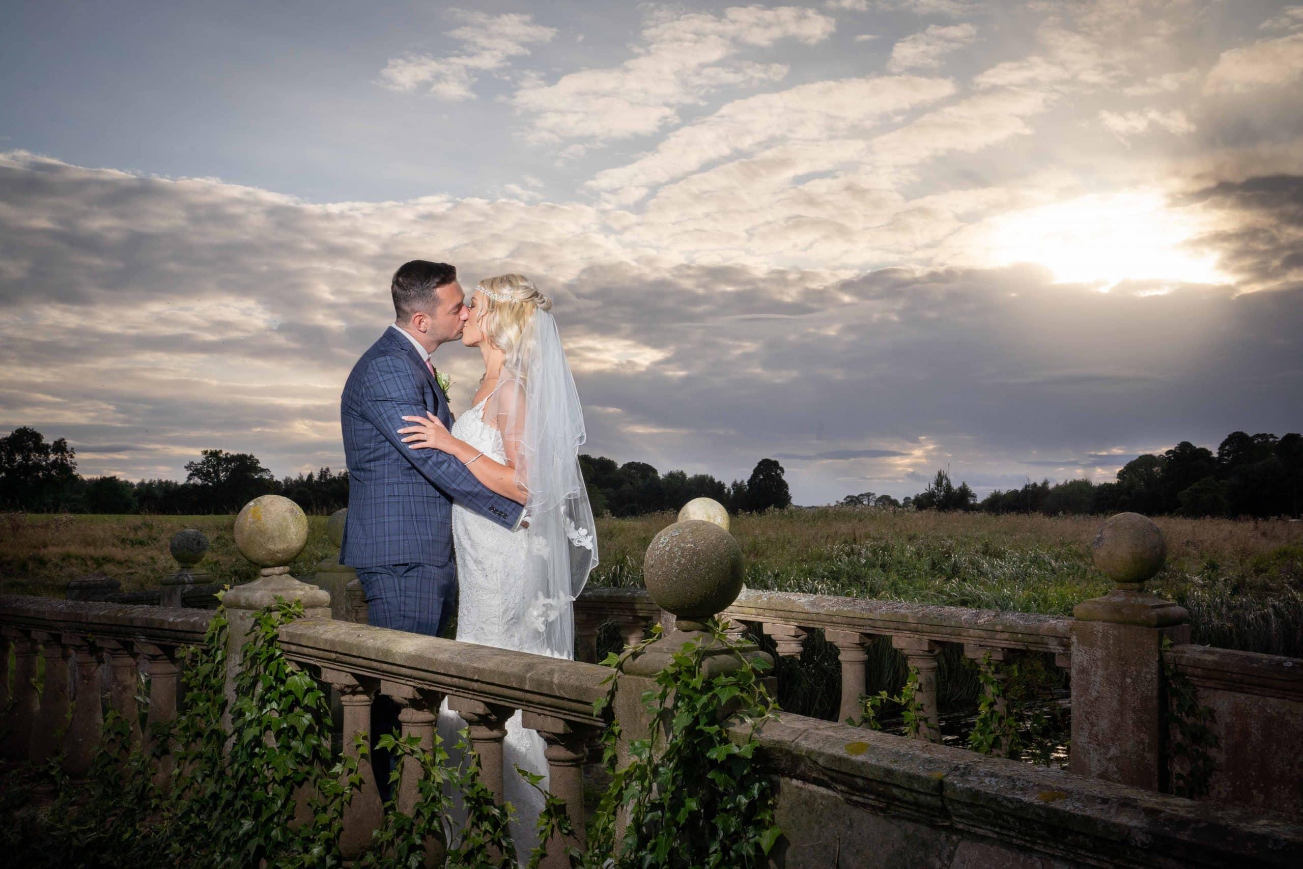 Northumberland wedding photography at Matfen Hall