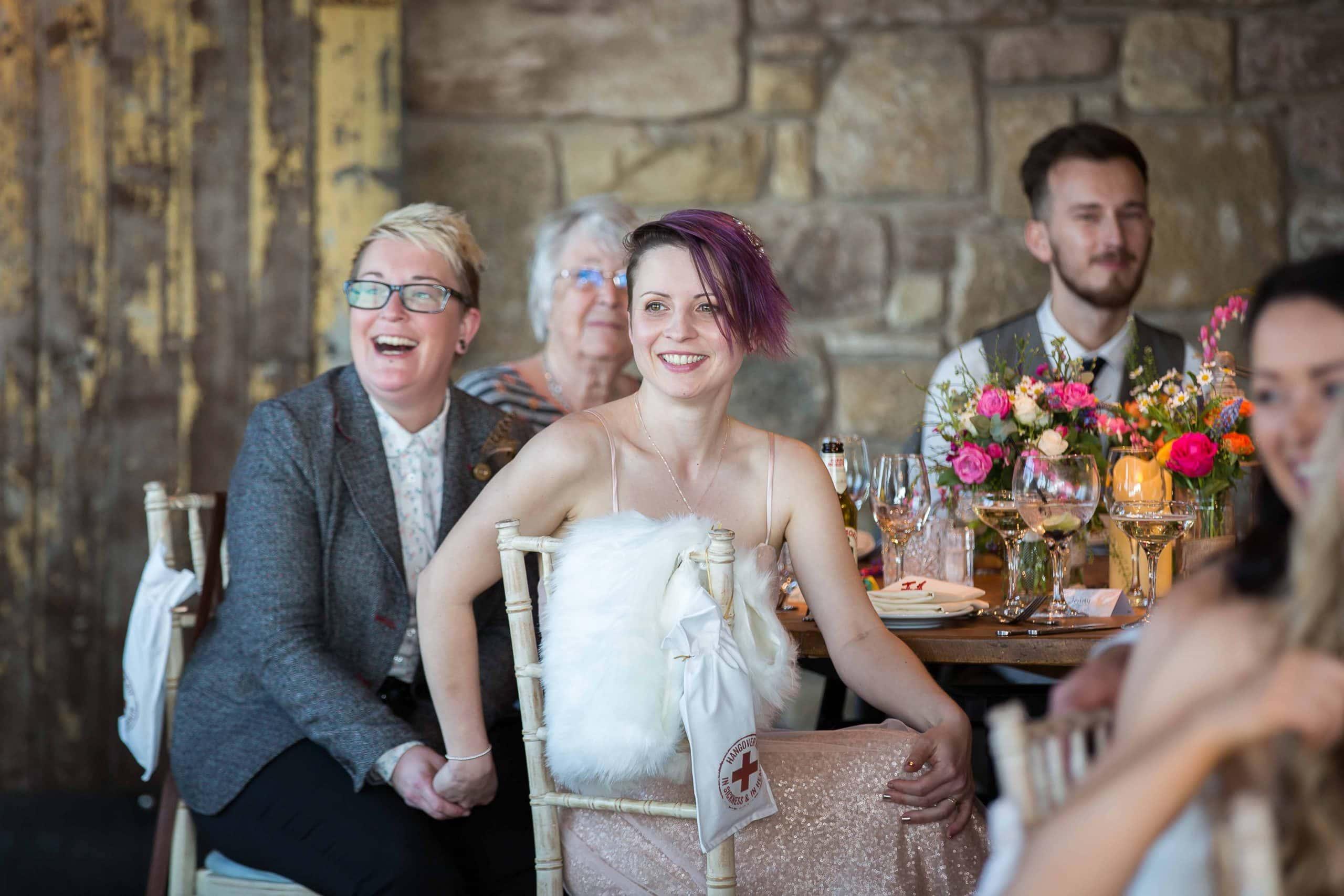 Newton hall wedding by teardrop Photography