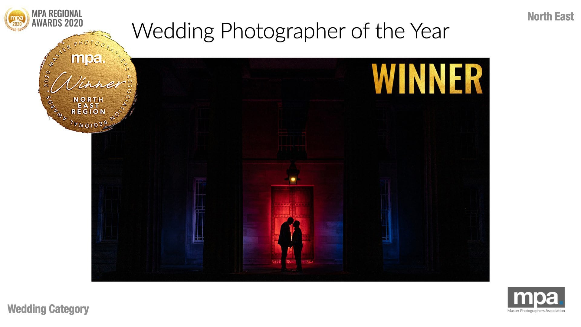 North East Wedding Photographer Of The Year