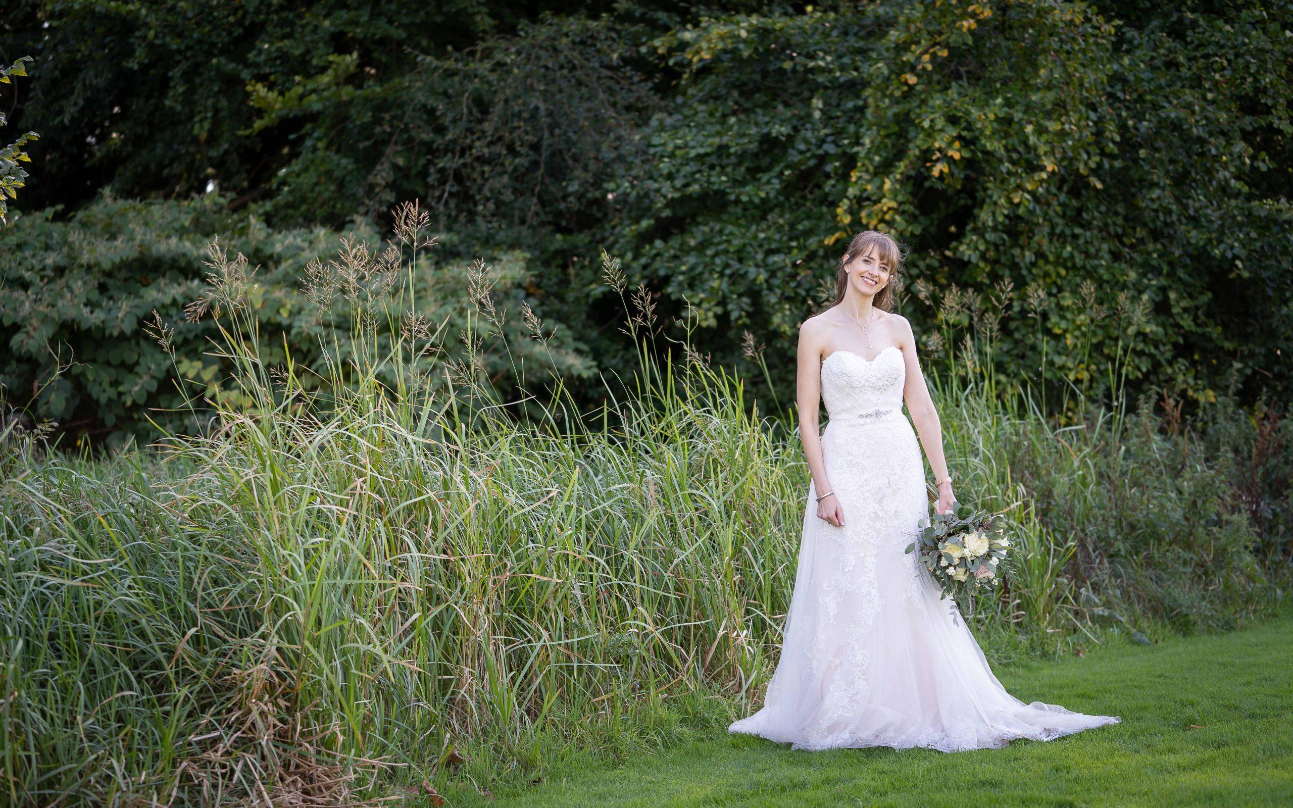 Bride at Walworth Castle