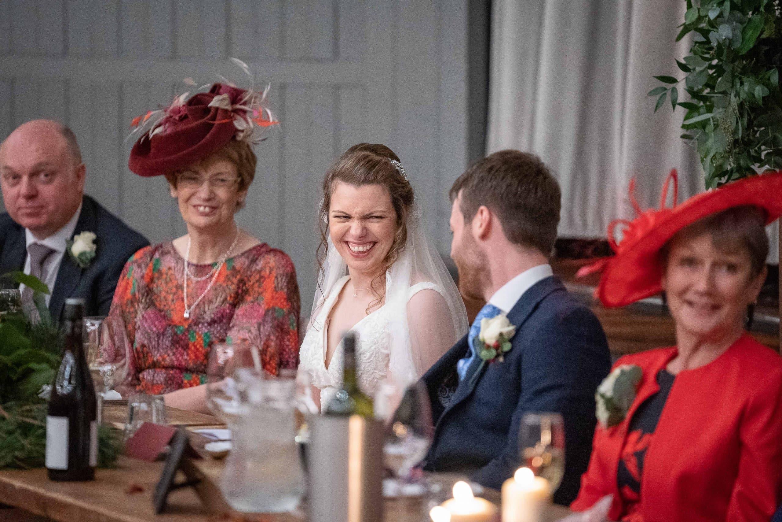 Wedding speeches at Wylam Brewery