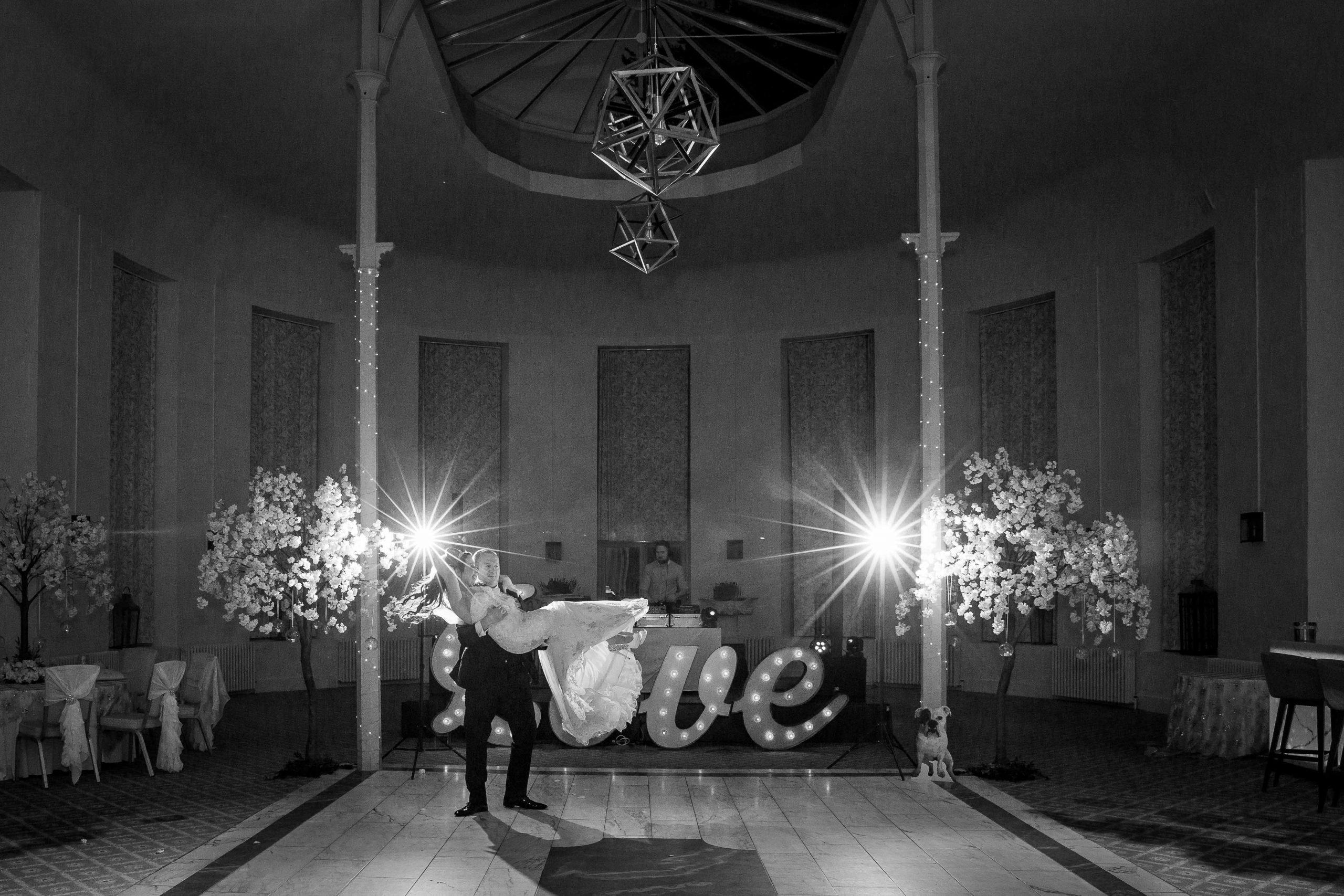 First dance at Wynyard Hall wedding