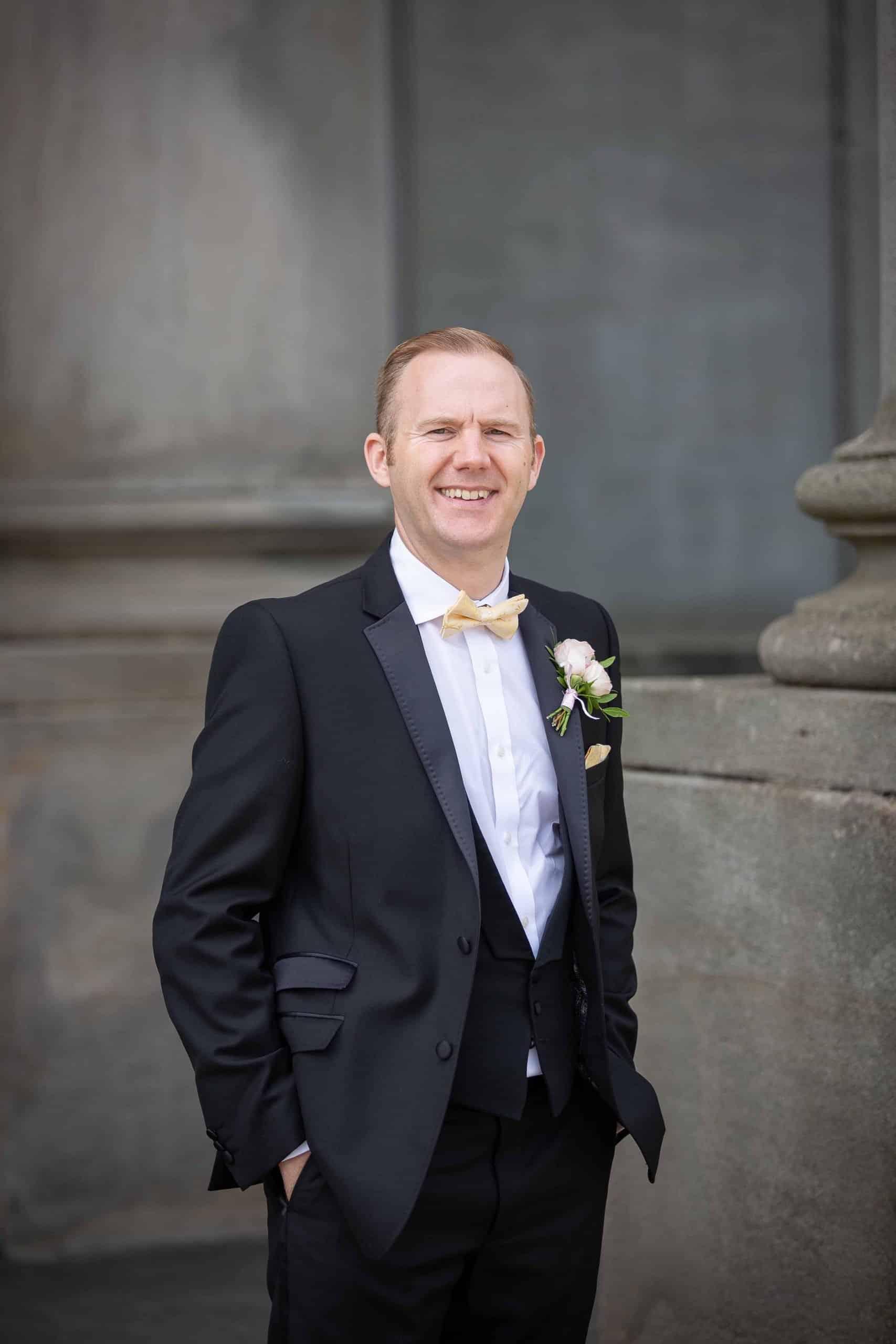 The groom at Wynyard Hall